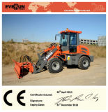 Everun Brand CE Approved 1.2 Ton Mini Front End Loader