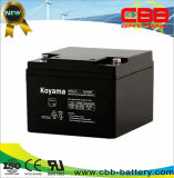 12V 26ah Sealed Lead Acid AGM Battery for Lawn Mower