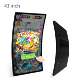 Smart Curved Colorful No Touch Display LCD Monitor for Gaming Industry
