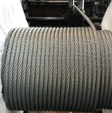 Factory 6*19+Iwrc Galvanized Steel Wire Rope for Trawl Fishing