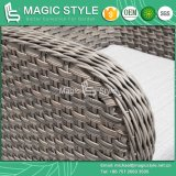 Outdoor Wicker Dining Set with Cushion Garden Dining Chair Rattan Dining Table Wicker Weaving Chair Patio Wicker Dining Table