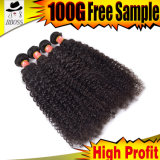 New Fashion 9A Brazilian Curly Wave Wholesale Human Hair Extensions