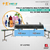 Econimic Automatic 1-6color Screen Printing Machine for Plastic Bottle and Cups