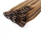 7A Grade Remy Brazilian Straight Clip in Human Hair Extensions on Sale