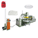 PS EPS Polystyrene Foam Thermocol Plate Machine Disposable Plastic Food Box Dish Forming Machine