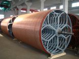 Cast Iron or Stainless Steel Cylinder Mould for Paper Machine
