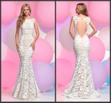 Lace Evening Dresses Wedding Mermaid Party Prom Dresses B14623