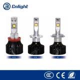 High Power LED Headlight H11 20W 6000K Auto LED Headlight Bulbs Fans Cooling 12V 24V Cars LED Head Light H11 Lighting