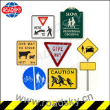 China Custom Aluminum High Reflective Safety Road Traffic Sign