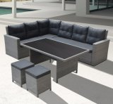 Garden Patio Wicker Rattan Kansas Lounge Home Hotel Office Outdoor Furniture (J545)