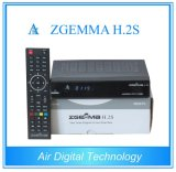 Zgemma H. 2s Twin Tuner HD DVB S2&S Fast Running Chipset with IPTV