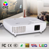 1080P 3D LED Wireless Mini Projector for Home Cinema (X2000)