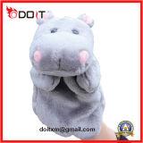 Hippo Plush Animal Hand Dolls Soft Plush Hand Puppet Toy