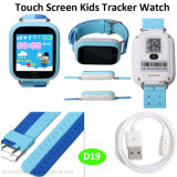 Kids GPS Tracker Gift Watch with Colorful Touch Screen Wristwatch (D19)