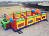 New Popular Rainbow Colorful Inflatable Playground Giant Inflatable Sports Games