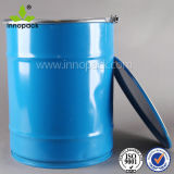 50L Blue Metal Oil Drum with Lid