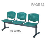 Popular Chinese Furniture Three Seat Waiting Public Airport Chair (FS-J301A)