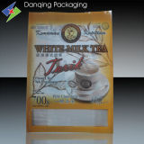 Coffee Bag, Bean Packaging, Three Side Seal Pouch (DQ651)