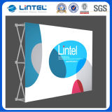 10ft Aluminum Exhibition Fabric Display Banner Stands (LT-09D)