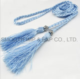 Wholesale Fashion Women Garment Accessories Tassel Belt Decoration Textile Dress