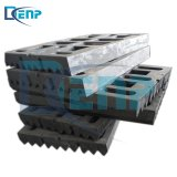 Crusher Manganese Steel Jaw Plate Crusher Wear Parts Spare Parts