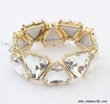 Wholesale Fashion Crystal Wide Zircon Bracelets Bangles Jewelry Accessories