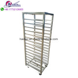 Price of Bakery Machinery Stainless Steel Tray Trolley Food Bread Trolley for Sale