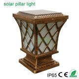 Classical Brass Solar Style 5W Garden Outdoor LED Lighting Solar Main Gate Light