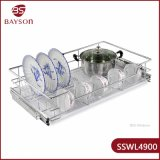 Stainless Steel Kitchen Storage Wire Basket Bowl and Dish Rack