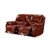 Wholesale Home Furniture Genuine Leather 1+2+3 Electric Recliner Theater Movie PU Sofa Factoryhb2113