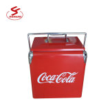 China Imprint OEM Zinc Metal Ice Bucket Champagne Cooler Beer Ice Bucket