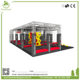 New Design Indoor Outdoor Cheap Adults Amusement Sports Park Fitness Professional with Ninja Course for Kids