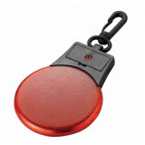 Mini Safety Flashing Blink Traffic Warning Light for Cycling with Buckle