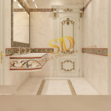 Arabic Villa Bathroom Wall Decoration Simple Waterjet Marble Border Designs