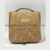 Cork Fabric Material Trolly Bag Travel Wholesale Cheap Top Quality Bag Cosmetic Makeup Popular Cork Bag Handbag