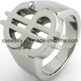 Fashion Jewelry Stainless Steel High Polished Ring