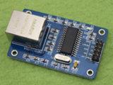 Enc28j60 LAN Ethernet Network Board Module 25MHz Crystal