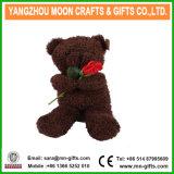 Brown Plush Stuffed Bear Soft Toy, Teddy Bear Shaped Plush Valentine Day