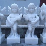 Building Materials Marble Statue Carving Stone Angel Statues Angel Sculpture