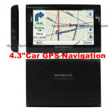 "4.3"" Car Vehicle Truck Portable GPS Navigator GPS Navigation PDA with 480*272 Touch Panel Support 2016 Igo Map, Navitel Map with Speed Camera, Rear Parking Cam"