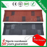 Sand Coated Metal Roof Tiles House Building Material Hot Sale in Kenya