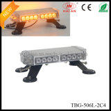 Amber Color LED Mini Lightbar in Aluminum Case (TBG-506L-2C4)