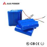 Rechargeable 18650 3s 11.1V 2000mAh Lithium Ion Battery Packs for Emergency Light