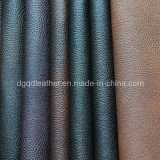 High Quality Breathable PU Furniture Leather (QDL-FB0033)