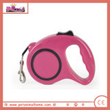 Different Colors Automatic Retractable Dog Leash for Wholesale in Fuschia