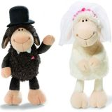 Cute Plush Wedding Toy Stuffed Sheeps