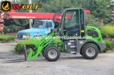 New Zl08 Radlader, Hoflader, Mini Loader with Automatic Transmission