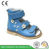 3 Colors Flower Leather Stability Children Sandal Kids Orthopedic Sandal