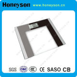 Glass Finished LCD Display Hotel Bathroom Scale