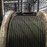 6X19s+FC Ungalvanized Steel Wire Rope with One Strand Colored 21mm